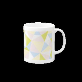 一束のcutting(ダイヤモンド)マグカップ