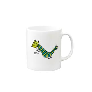 龍G(下手な絵) Mugs
