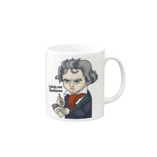 ベートーヴェン No.2 Mugs