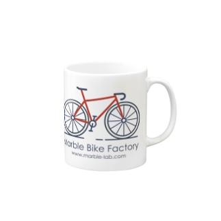 Marble Bike Factory Mugs