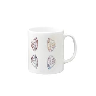 pink crystal マグカップ