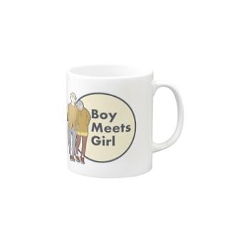Boy Meets Girl Mugs