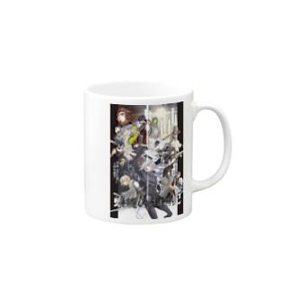 建国-black- Mugs