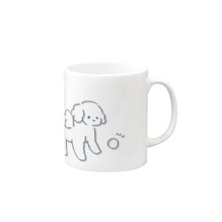 ふわふわトイプードル6 Mugs