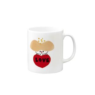 hanaco love Mugs