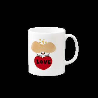 mahicotoriのhanaco love Mugs
