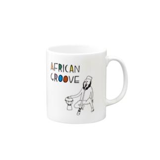 AFRICAN GROOVE Mugs