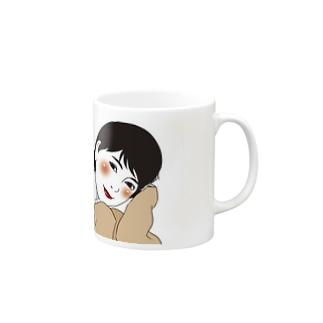 萌え袖アラサーさん Mugs