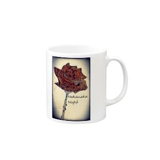 Rose-a/right Mugs