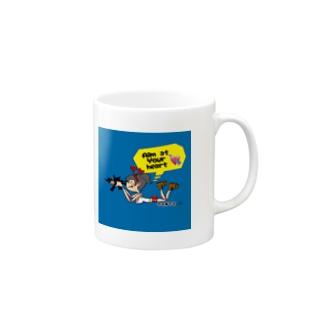 TANTAのAim at  your heart Mugs