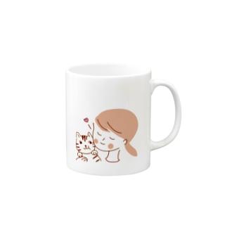 にゃんこ大好き Mugs