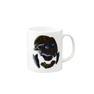 リアルあみぐるみブラック Mugs