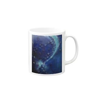 油絵「星のかけら」 Mugs