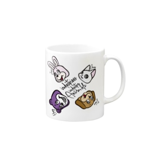 ANIMALs 4th Mugs