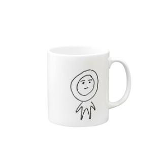 煮玉子ちゃん Mugs