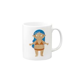 Characters ビキニガール マグカップ