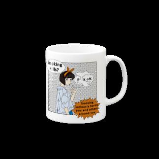 yeSのSmoking kills? fxxk off. Mugs