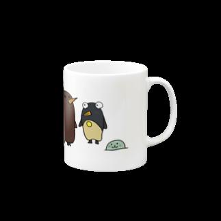ぺけ丸のコウテイペンギンの赤ちゃん  Mugs
