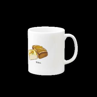 おにぎりまん🎨イラストレーターの小洒落パングッズ Mugs
