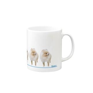 ポメラニアンのランディー 間違い探し Mugs