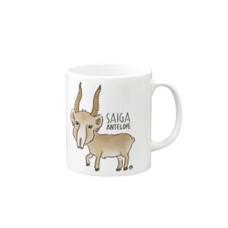 サイガくん Saiga Antelope Mugs