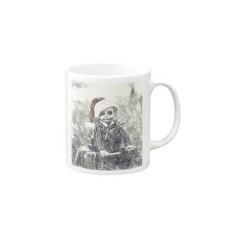 A boy who predicts death Mugs