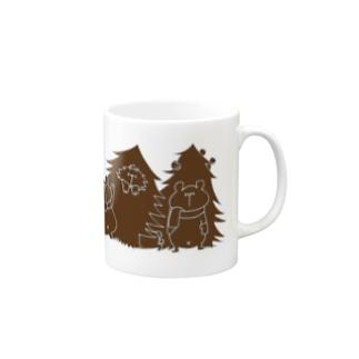 クリスマス限定 もみの木(チョコレート) Mugs