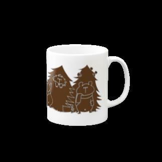 shirokumasaanのクリスマス限定 もみの木(チョコレート) Mugs