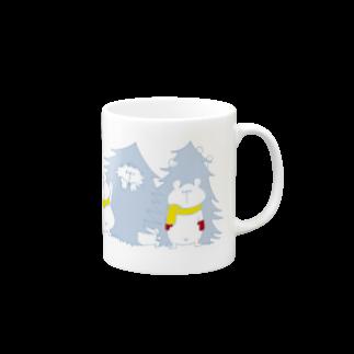 shirokumasaanのクリスマス限定 もみの木(冬色) Mugs