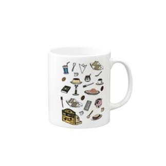 純喫茶 いろどり Mugs