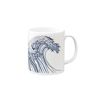 東海道五十三次 Mugs