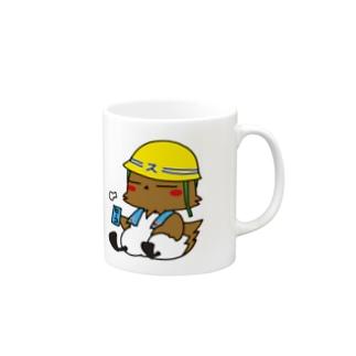 スズメの親方休憩バージョン Mugs