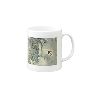 飛行機 Mugs