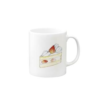 *いちごショートケーキ* Mugs