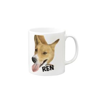 紀州犬 REN Mugs