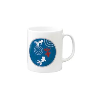 金魚・丸 Mugs