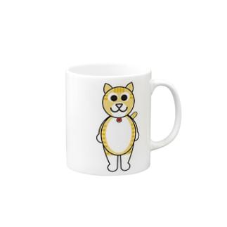 茶白猫のチャッピー Mugs