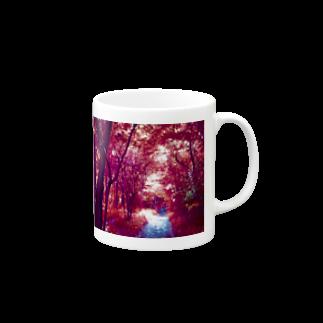 MMD 山田淀子のピンクの森 Mugs