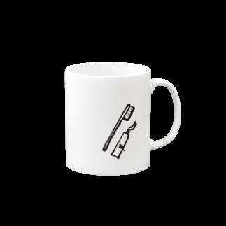 筆文字ショップの歯磨きセット Mugs