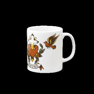 Shineのswallow Mugs