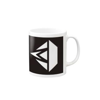 MDSロゴ(blck) Mugs