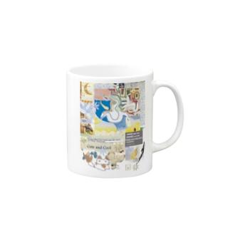 305★月山いつこ作品●雪空■キュ1 Mugs