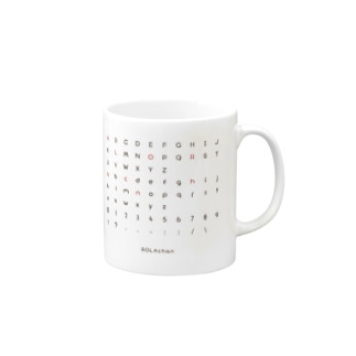 オザワタクヤのローラちゃんフォント Mug