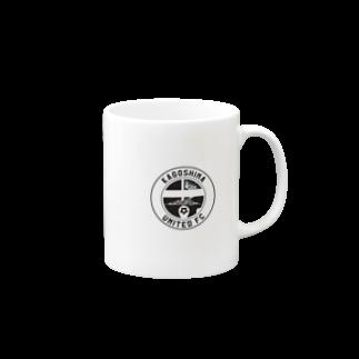 鹿児島ユナイテッドFC公式グッズショップの【 KUFC 】 WHITE LOGO GOODS Mugs