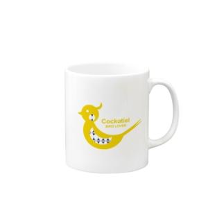 オカメインコ!(黄) Mugs
