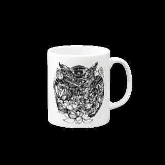 ZERO_1.97の木菟2 Mugs