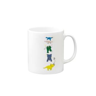 角竜たち Mugs