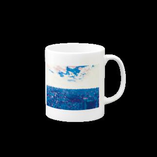 ごちゃごちゃの近未来的 Mugs