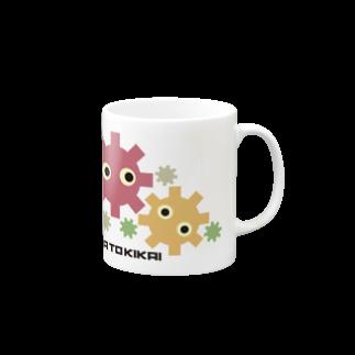 柏木公宰のオリジナルグッズの花とキカイ Mugs