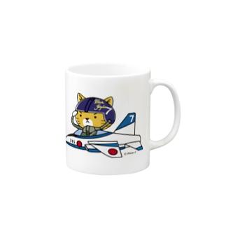 ブルーニャンパルス Mugs